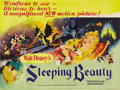 "Movie Posters:Animated, Sleeping Beauty (Buena Vista, 1959). British Quad (30"" X 40""). This was Disney's most lavish and expensive cartoon feature e..."