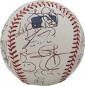 Autographs:Baseballs, 2001 St. Louis Cardinals Team Signed Baseball. The 2001 St. Louis Cardinals are represented here by 30 signatures from memb...