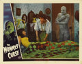 "Movie Posters:Horror, The Mummy's Curse (Universal, 1944). Lobby Card (11"" X 14""). LonChaney, Jr. returns as the Mummy Kharis in this, the final ..."