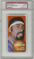 "Basketball Cards:Singles (1970-1979), 1970-71 Topps Wilt Chamberlain #50 PSA NM 7. Supreme example ofWilt Chamberlain's entry in the 1970-71 Topps basketball ""t..."