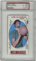 Basketball Cards:Singles (Pre-1970), 1969-70 Topps Lew Alcindor #25 PSA EX-MT 6 (OC). The marquee card from the oversized '69-70 Topps set is the only recognize...