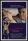 "Movie Posters:Cult Classic, Say Anything (20th Century Fox, 1989). One Sheet (27"" X 41"").Romance Drama. Starring John Cusack, Ione Skye, and John Mahon..."