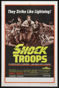 "Movie Posters:War, Shock Troops (United Artists, 1968). One Sheet (27"" X 41""). War.Starring Jean Claude Brialy, Michel Piccoli, and Claude Bra..."