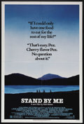 "Movie Posters:Adventure, Stand By Me (Columbia, 1986). One Sheet (27"" X 41""). Drama.Starring Wil Wheaton, River Phoenix, Corey Feldman, Jerry O'Conn..."