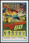 "Movie Posters:Science Fiction, Thunderbirds Are Go (United Artists, 1968). One Sheet (27"" X 41"").Action. Shot in ""Supermarionation."" To distance it from t..."