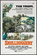 "Movie Posters:Adventure, Skullduggery (Universal, 1970). One Sheet (27"" X 41""). Adventure.Starring Burt Reynolds, Susan Clark, Roger C. Carmel, and ..."