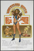 "Movie Posters:Documentary, The Wrestling Queen (Harnell Independent Productions, 1973). One Sheet (27"" X 41""). Sports Biography. Starring Vivian Vachon..."