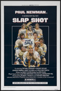 "Movie Posters:Action, Slap Shot (Universal, 1977). One Sheet (27"" X 41"") Style A. Sports Comedy. Starring Paul Newman, Strother Martin, Michael On..."