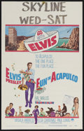"Movie Posters:Elvis Presley, Fun in Acapulco (Paramount, 1963). Window Card (14"" X 22"").Musical. Starring Elvis Presley, Ursula Andress, Elsa Cardenas a..."