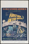 "Movie Posters:Science Fiction, First Men in the Moon (Columbia, 1964). Window Card (14"" X 22"").Based on an H.G. Wells story, this film is from the great t..."