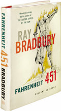 Books:First Editions, Ray Bradbury: Fahrenheit 451 First Edition. (New York:Ballantine Books, 1953), first edition, 199 pages, red cloth ...