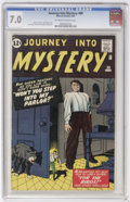 Silver Age (1956-1969):Horror, Journey Into Mystery #80 (Marvel, 1962) CGC FN/VF 7.0 Off-white towhite pages....