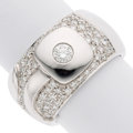 Estate Jewelry:Rings, Diamond, White Gold Ring, Chimento . ...