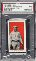 """Baseball Cards:Singles (Pre-1930), 1910 E98 """"Set of 30"""" Cy Young PSA NM 7 - Black Swamp Find. ..."""