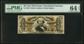 Fractional Currency:Third Issue, Fr. 1329 50¢ Third Issue Spinner PMG Choice Uncirculated 64 EPQ.. ...