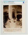 "Explorers:Space Exploration, AP Original Wirephotos: ""Away"" July 17, 1969, Directly From The Armstrong Family Collection™, CAG Certified. ..."