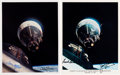 Explorers:Space Exploration, Gemini 6A & Gemini 7 Rendezvous: Individual Crew-Signed Color Photos. ...