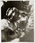 Explorers:Space Exploration, Apollo 8: Original NASA In-Flight Photo Signed by Frank Borman and James Lovell. ...