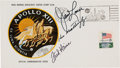 "Explorers:Space Exploration, Apollo 13 Crew-Signed ""Type One"" Insurance Cover Directly from the Personal Collection of Mission Commander James Lovell, with..."