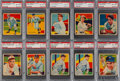 Baseball Cards:Lots, 1934-36 Diamond Stars PSA NM-MT 8 Collection (10). ...