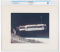 Explorers:Space Exploration, Gemini 8: Large Close Up View of the Agena Target Vehicle Vintage NASA Color Photo on Presentation Mat Directly From The A...