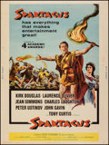 """Movie Posters:Action, Spartacus (Universal International, R-1961). Rolled, Fine/Very Fine. Poster (30"""" X 40""""). Action.. ..."""