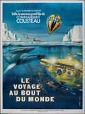 """Movie Posters:Documentary, Voyage to the Edge of the World (CCFC, 1976). Folded, Very Fine+. French Grande (47.25"""" X 63"""") Vanni Tealdi and Rene Ferracc..."""