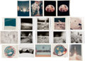"""Explorers:Space Exploration, Apollo: Excellent Large Collection of Nineteen Original NASA Photos including Seven """"Red Number"""" Examples. ..."""