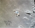 Explorers:Space Exploration, Michael Collins Signed Large Apollo 11 Command Module Columbia Color Photo. ...