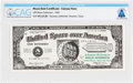 Explorers:Space Exploration, Apollo 11: 1969 Moon Dust Certificate - Fantasy Note, Directly From The Armstrong Family Collection™, CAG Certified. ...