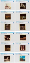 Explorers:Space Exploration, Apollo 12: Set of Twelve Color Photos by Dexter, 58-1 through 58-12, Directly From The Armstrong Family Collection™, CAG C...