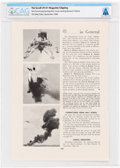 "Explorers:Space Exploration, ""Neil Armstrong Ejecting from Lunar Landing Research Vehicle"" The Scroll Phi Delta Theta, September 1968 Clipping,..."