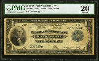 Fr. 739* $1 1918 Federal Reserve Bank Note PMG Very Fine 20