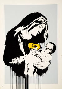 Banksy (b. 1974) Toxic Mary, 2004 Screenprint in colors on wove paper 27-1/2 x 19-3/4 inches (69