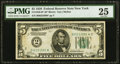 Small Size:Federal Reserve Notes, Fr. 1950-B* $5 1928 Federal Reserve Note. PMG Very Fine 25.. ...