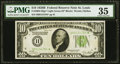 Fr. 2002-H* $10 1928B Federal Reserve Star Note. PMG Choice Very Fine 35