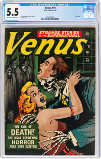 Venus #19 (Atlas, 1952) CGC FN- 5.5 Off-white to white pages