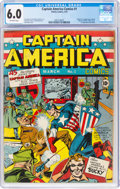 Captain America Comics #1 (Timely, 1941) CGC FN 6.0 Off-white pages