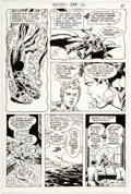 Original Comic Art:Panel Pages, Bob Brown and Murphy Anderson Superboy #171 Story Page 9 Original Art (DC, 1971)....