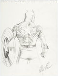 Original Comic Art:Illustrations, Alex Ross - Captain America Speciality Illustration Original Art (undated). ...