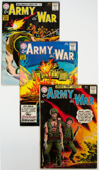 Our Army at War Group of 8 (DC, 1960-61) Condition: Average VG/FN.... (Total: 8 Comic Books)