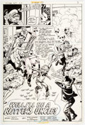 Original Comic Art:Panel Pages, Bob Oksner and Ric Estrada Welcome Back, Kotter #9 Story Page 2 Original Art Group (DC Comics, 1978)...