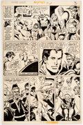 Original Comic Art:Panel Pages, Dick Dillin and Dick Giordano Justice League of America #112 Story Page #2 Original Art (DC Comics, 1974)....
