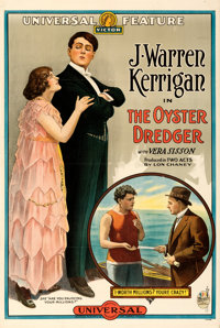 "The Oyster Dredger (Universal Moving Pictures, 1915). Fine/Very Fine on Linen. One Sheet (27.75"" X 41.5"")"