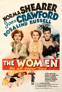 """The Women (MGM, 1939). Fine+ on Linen. One Sheet (27"""" X 41"""") Style C"""
