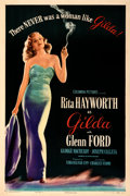 "Movie Posters:Film Noir, Gilda (Columbia, 1946). Very Fine- on Linen. One Sheet (27"" X 41"") Style B.. ..."