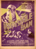 "Movie Posters:Horror, The Invisible Man (Universal, 1933). Fine. Window Card (14"" X 18.5"").. ..."