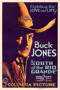 "Movie Posters:Western, South of the Rio Grande (Columbia, 1932). Fine- on Linen. One Sheet (27.5"" X 41"").. ..."