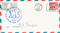 Explorers:Space Exploration, Milt Thompson Signed X-15 Cover, September 4, 1964, Edwards AFB. ...