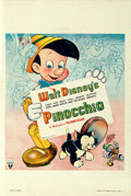 """Movie Posters:Animation, Pinocchio (RKO, 1940). Very Fine- on Linen. British Double Crown (20"""" X 30"""").. ..."""
